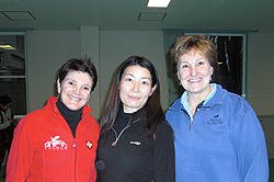 Tタッチ日本担当講師 デビー・ポッツ氏、ローレン・マッコール氏と ともに